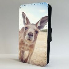 Kangaroo Funny Photograph Wild Nature FLIP PHONE CASE COVER for IPHONE SAMSUNG