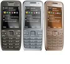 3G Cell Phone Nokia E52 Unlocked Bluetooth Wifi Camera 3.2mp GPS Mobile Phone