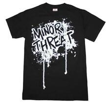 Minor Threat Drip Logo T-Shirt Rock Country Music Band Concert Jam