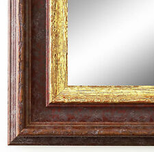 Dressing Room Mirror Brown Gold Trento Antique Shabby 5,4 - ALL SIZES