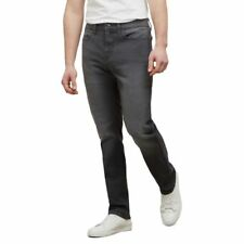 Reaction Kenneth Cole Grey Stretch Fit Straight Leg Jean - Men's - Grey