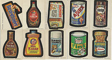 1973 Topps Wonder Bread Series 1-3 Wacky Packages 11 Stickers