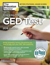 Cracking the GED Test with 2 Practice Exams, 2018 Edition: All the-ExLibrary