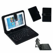 "Luxury PU Leather Stand Case USB Keyboard for Android Tablet PC 7""8"" 9"" 9.7"" 10"""