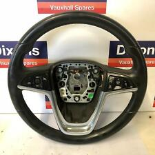 Vauxhall Insignia 3 Spoke Multi function Steering Wheel With Controls 13316547