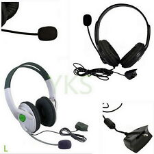 Live Big Headset Headphone With Microphone for XBOX 360 Xbox360 Slim NEW Q9