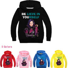 Descendants BELIEVE IN YOURSELF Kids girls Hoodie Hoody Tops Jumpers SweatShirts