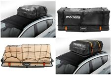 Cargo Car Carrier Bag Roof Top Waterproof Hitch Luggage Rack Truck Storage & Net