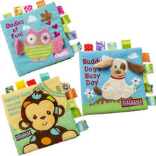 Animal Embroidery Cloth Book Puzzle Book Baby Three-dimensional Cloth Book