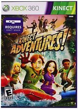 Kinect Adventures! Microsoft Xbox 360 Video Game