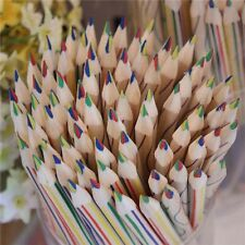 2017 Rainbow Pencil 4 in 1 Colored Drawing Painting Pencil Practice 1/5/15/20Pcs