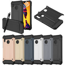 For Huawei P20 Lite Phone Armor Case Hybrid Heavy duty Shockproof Rugged Cover