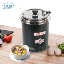 Electric Kettle Soup Broth Warmer Commercial Stainless Steel Boiler Eco-Friendly