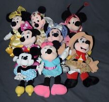 You Pick 1 Mickey Minnie Mouse Bean Bag Plush Disney Store GUND Juliet LUV Bug
