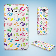 CUTE RAINBOW CHERRY FRUIT PATTERN HARD CASE PHONE COVER FOR ASUS ZENFONE 2 5 6