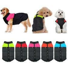 Dog Clothes Waterproof Warm Pet Vest Jacket Coat For Small, Medium, Large Dogs