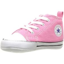 Converse Chuck Taylor First Star Pink Textile Baby Soft Soles