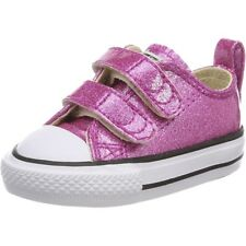 Converse Chuck Taylor All Star 2V Glitter Ox Bright Violet Synthetic Baby