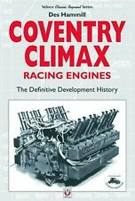 Coventry Climax Racing Engines by Des Hammill Paperback Book Free Shipping!