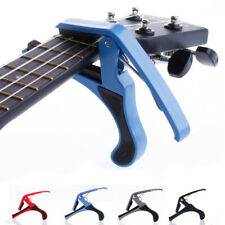 Electric Guitar Capo Trigger Change Quick Clamp Tuner Key Guitar Accessories New