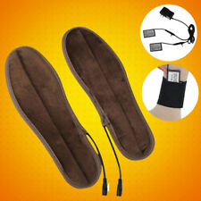 1Pair Rechargeable Battery Heated Insoles Winter Shoes Boot Foot Warmer Shoe Pad