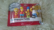 The Simpsons TV SHOW Family Figures  Homer Marge Bart Lisa Simpson BNIP