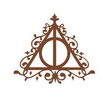 Harry Potter Deathly Hollows Vinyl Decal Sticker + Buy 1 Get 1 FREE