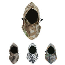 Camo Unisex Fleece Balaclava Hat Winter Ski Motorcycle Face Mask Hood Cap
