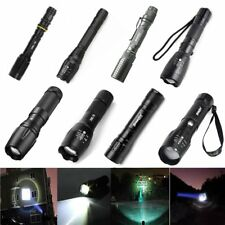 12000 Lumen XML T6 LED Zoomable Flashlight Torch 18650 Lamp Light Bright NEW