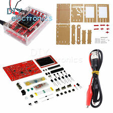 "DSO138 2.4"" TFT Digital Oscilloscope Soldered Acrylic Case DIY Kit US"