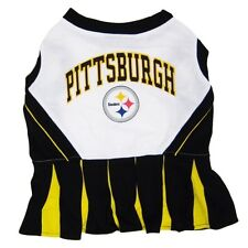 Pittsburgh Steelers NFL Pets First Cheerleader Dog Dress Sizes XS-M