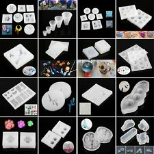 1Pc DIY Craft Tool Silicone Mold Pendant Resin Casting Mould Jewelry Making Kits