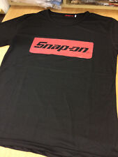 Snap On Tools Black T-shirt screen printed size Small 36