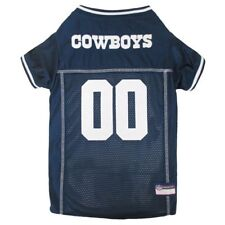 Dallas Cowboys NFL Pets First Licensed Dog Embroidered Pet Jersey XS-L