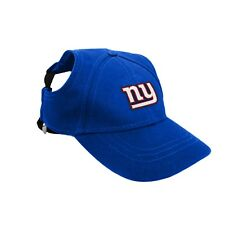 New York Giants NFL Licensed LEP Dog Pet Baseball Cap Hat Sizes S-XL