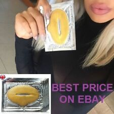 24k Gold Collagen Bio Crystal Mask Face Facial Eye Neck Lip Anti Ageing Masks UK