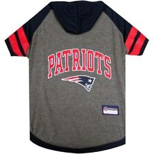 New England Patriots NFL Sporty Dog Pet Hoodie T-Shirt Sizes XS-L