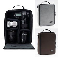 Large Camera Bag Insert Carry Case Pouch Lens Case For DSLR SLR Canon Nikon Sony