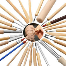 31PCS Clay Sculpting Wax Carving Pottery Tools Shapers Polymer Modeling Kit