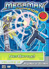 Megaman: NT Warrior - Vol. 12: NetBattle (DVD, 2007, Dubbed) #2-049