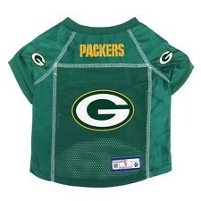Green Bay Packers LEP NFL Dog Jersey Officially Licensed Green, Sizes XS-XL