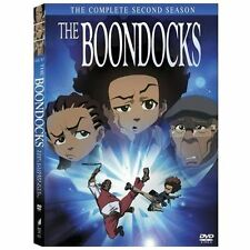 The Boondocks Complete Second Season DVD 3-Disc Set Brand New Free Shipping
