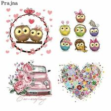 Fashion Clothes Stickers Heat Press Appliqued Washable Heat Transfers Iron On Pa