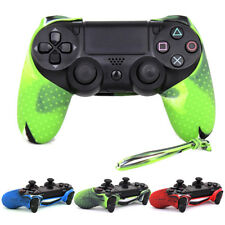 Silicone Rubber Soft Case Grip Cover Skin For Sony Playstation 4 PS4 Control LK