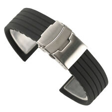 18/20/22/24mm Watch Strap Rubber Watch Band Silicone Replacement Wrist Belt
