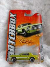 2011 Matchbox Old Town 1968 Ford Mustang GT/CS (New on Card)