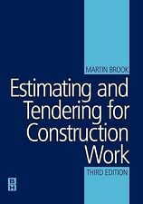 Estimating and Tendering for Construction Work by Martin Brook (Paperback, 2004)