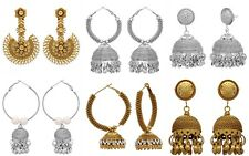 Indian Bollywood Jhumka Style Fashion Dangler Party Earrings For Girls / Women