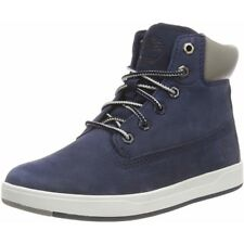 Timberland Davis Square 6 Inch Boot Navy Nubuck Junior Ankle Boots