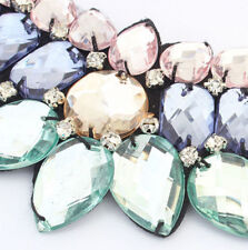 New Selling New Fashion Water Drop Resin Collar Bib Necklace Jewelry